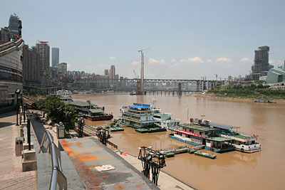 Chongqing, river view