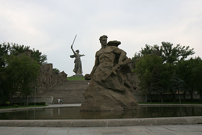 Mamayev Kurgan memorial